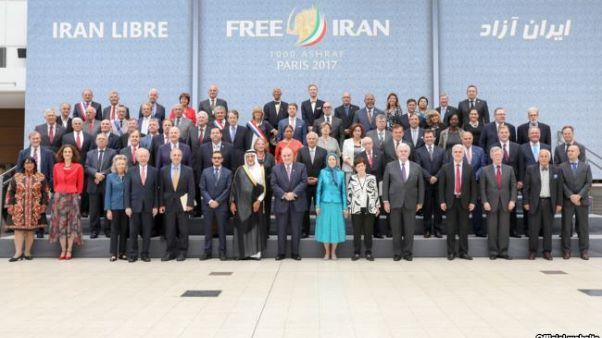 گردهمایی سازمان مجاهدین خلق و واکنش وزارت خارجه ایران