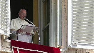 El papa reclama paz en Venezuela