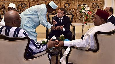 Sahel force should be operational within weeks - France's Macron says in Mali