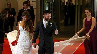 [En images] Revivez le mariage de Lionel Messi