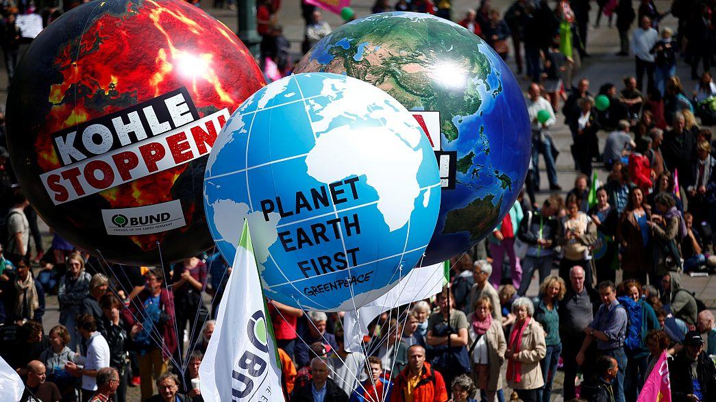 احتجاجات في هامبورغ ضد قمة مجموعة الدول 20