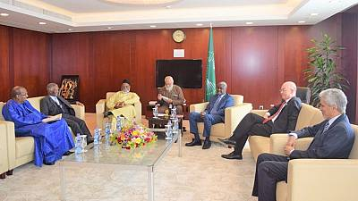 Former presidents in Ethiopia ahead of AU Heads of State Summit