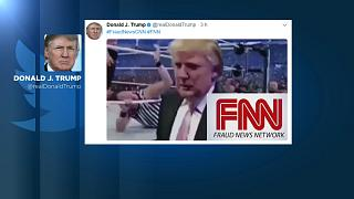 Donald Trump's CNN wrestling tweet sparks fresh outrage