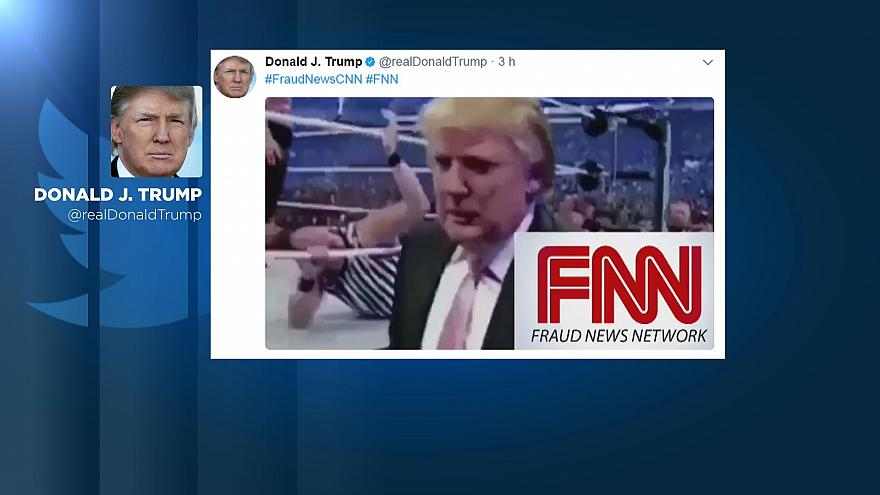 Usa: Trump attacca la CNN via Twitter