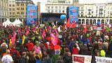 إحتجاجات في هامبورغ قبل بدء أعمال قمة العشرين