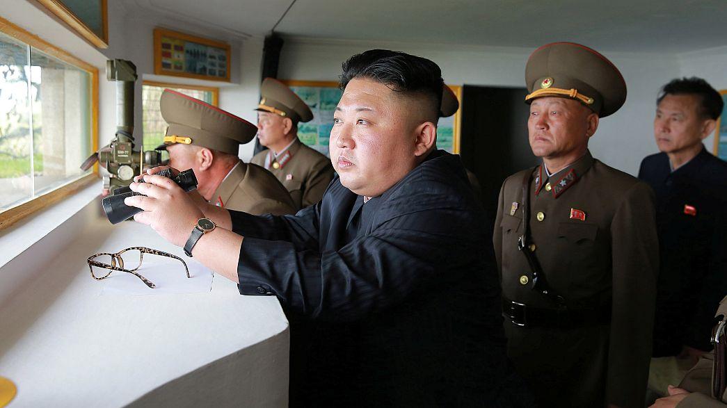 ترامب يناقش التهديد الكوري الشمالي النووي مع الصين واليابان