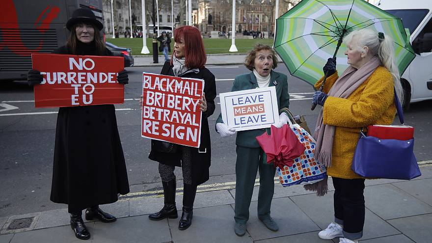 Image: Pro-Brexit supporters
