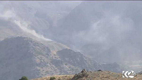 سپاه پاسداران مناطق مرزی کردستان عراق را بمباران کرد