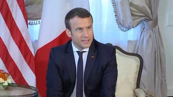 Europe, climat, terrorisme : les chantiers de Macron