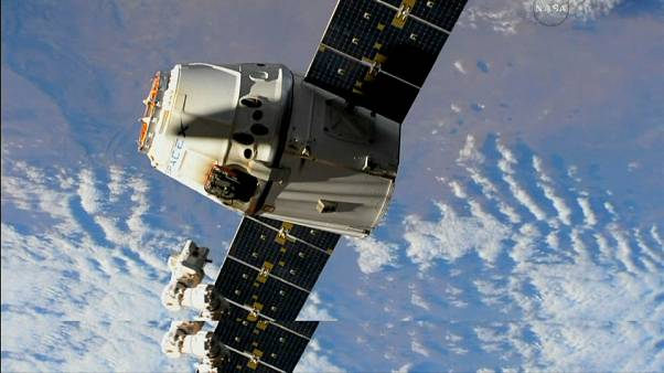 SpaceX Dragon released from ISS