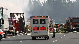 Germany: up to 18 feared dead after bus and lorry collide