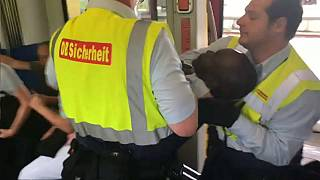 Video shows man forcefully removed from Munich metro