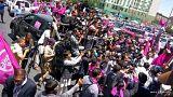 برپایی تظاهرات جنبش «رستاخیز تغییر» در کابل