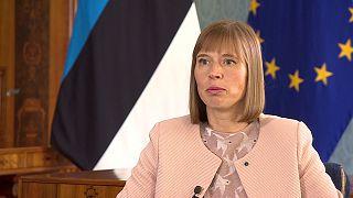 Estonya için önce güvenlik ve barış