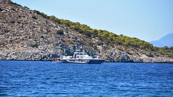 Skirmish between Turkish freighter and Greek coastguard