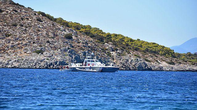 Yunan Sahil Güvenlik botları Türk bayraklı yük gemisine uyarı ateşi açtı