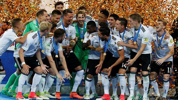 Nach 1:0 im Confed-Cup-Finale: Siegerflieger landet in Frankfurt