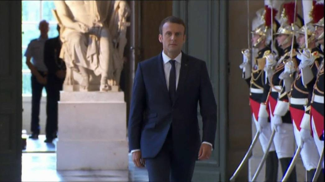 Macron sets out French 'renaissance' at Versailles