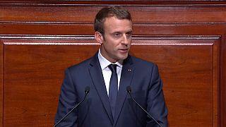 Macron kongreye konuştu