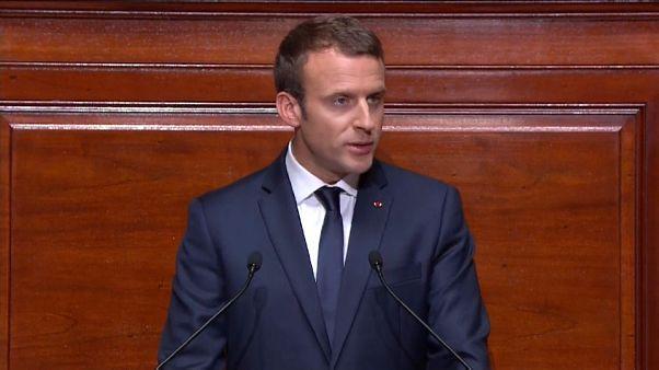 Macron fixe le cap devant le Congrès
