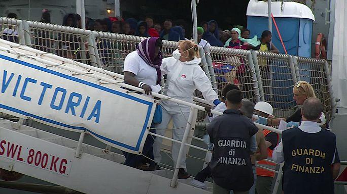 L'UE face à l'afflux migratoire en Méditerranée