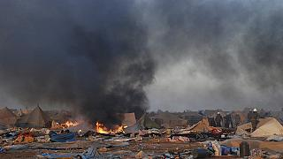Un incendie ravage la ceinture verte de Tanger au Maroc