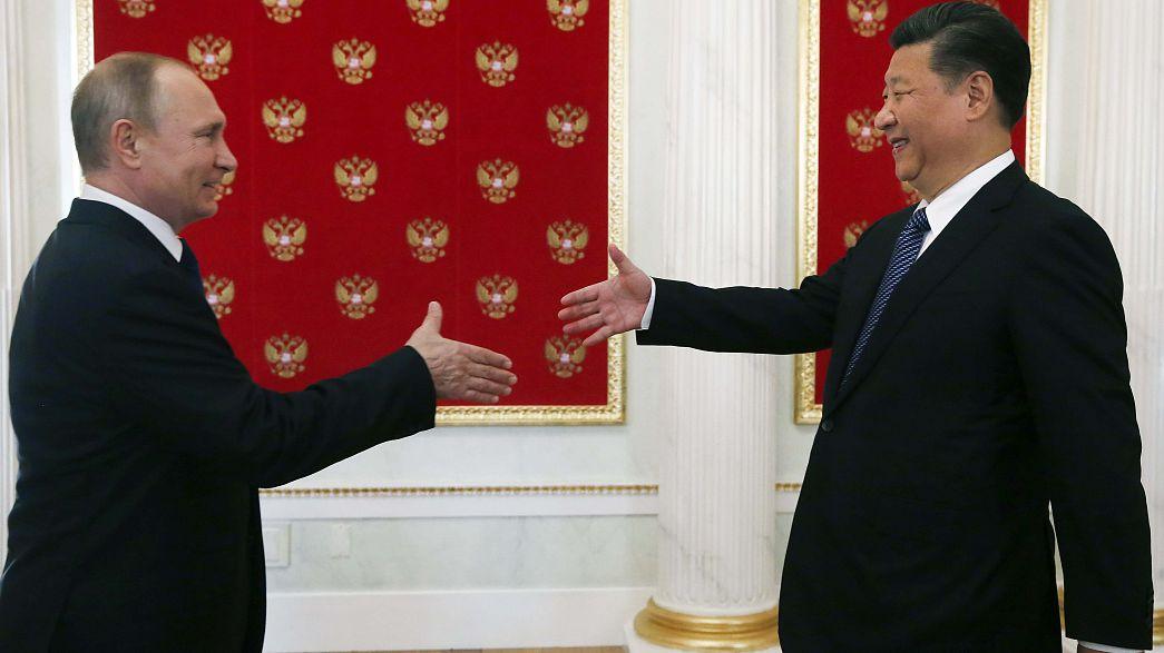 بكين وموسكو توقعان على أكثر من 40 اتفاقية