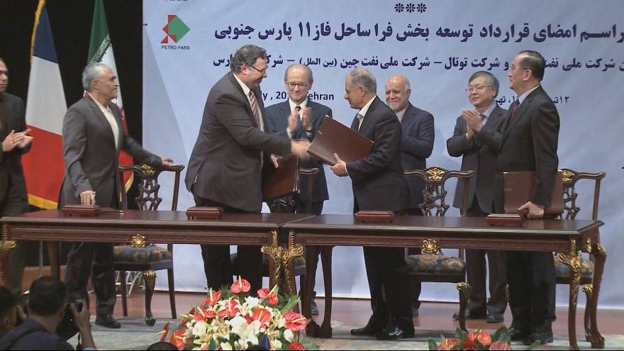 Iran and French oil giant Total clinch energy deal