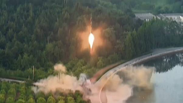 North Korea launches suspected ballistic missile into Sea of Japan