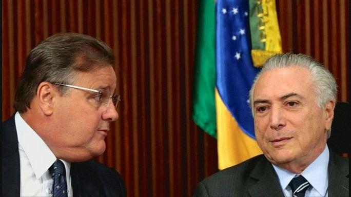 В Бразилии арестован ближайший соратник президента Темера