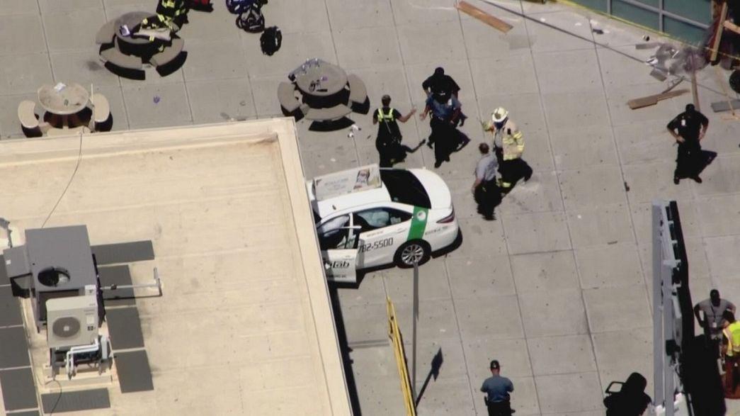Бостон: в аварии пострадали 10 человек