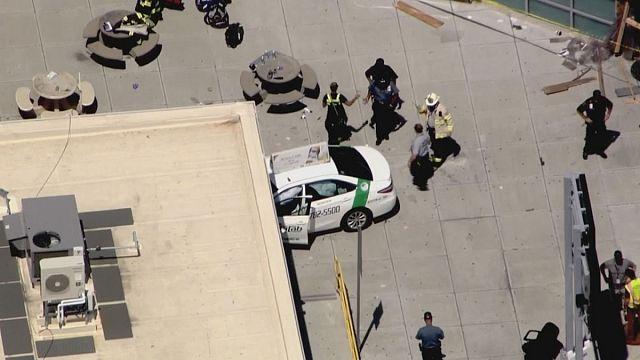 حادث دهس يوقع عشرة جرحى قرب مطار بوسطن بولاية ماساشوستس