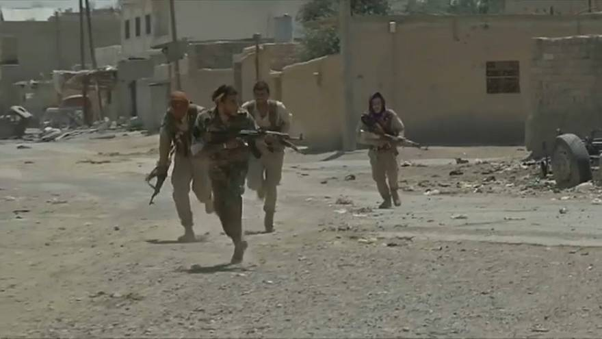US-backed troops advance into Raqqah's Old City