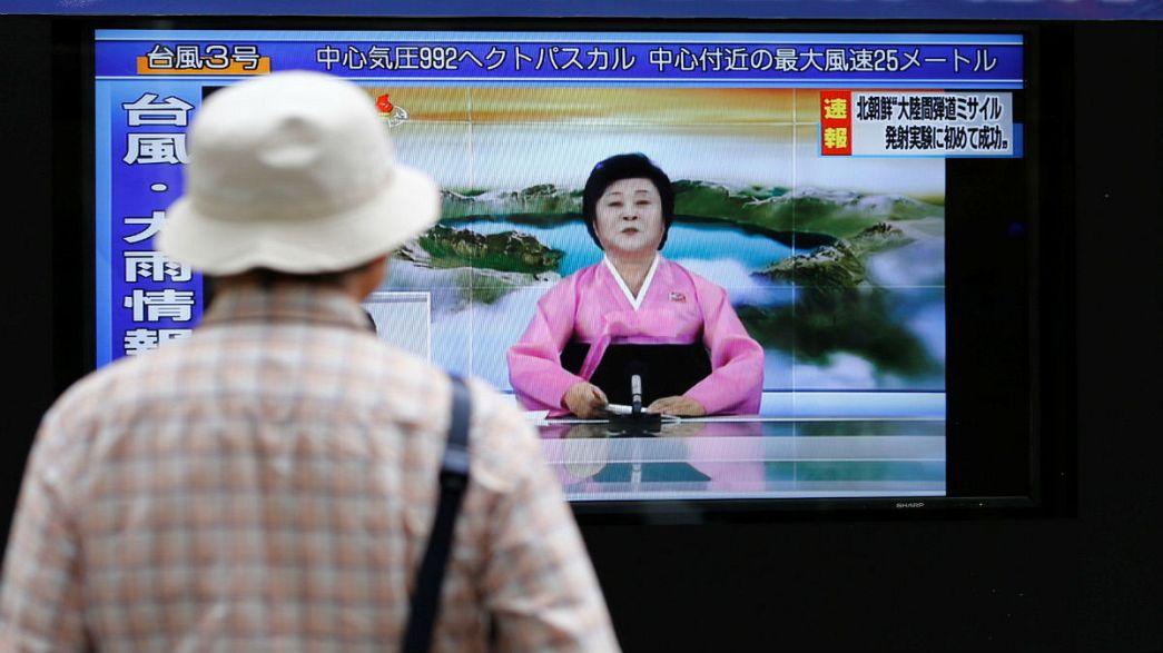 Észak-Korea bejelentette, hogy sikeresen tesztelt egy interkontinentális rakétát