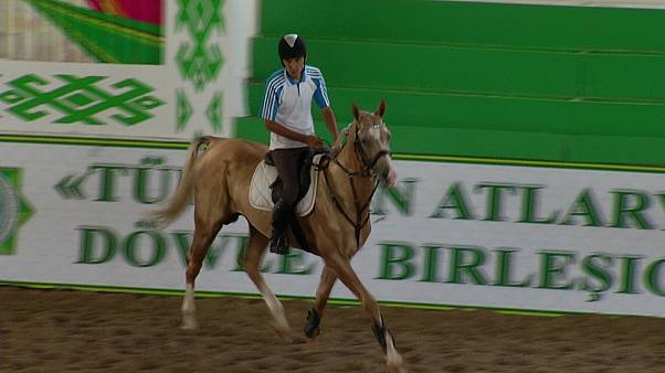 Turkmenistan's Akhal-Teke: the world's oldest horse