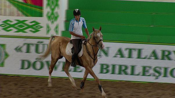 Les Akhal-Téké : les chevaux qui font la fierté du Turkménistan