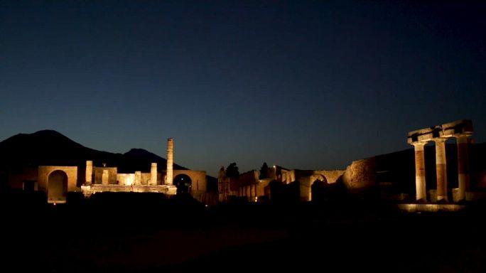 Pompei gece de ziyarete açık