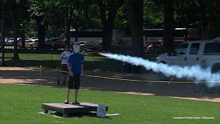 Cómo no manipular fuegos artificiales