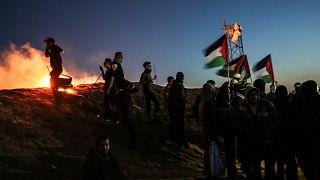 Image: TOPSHOT-PALESTINIAN-ISRAEL-GAZA-CONFLICT