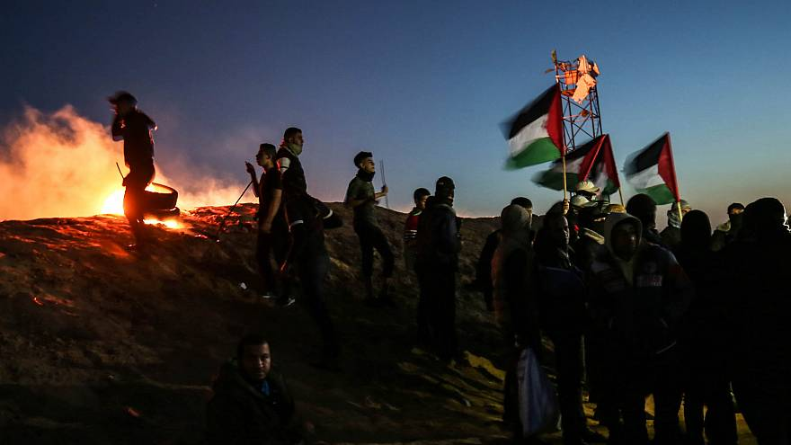 Image: TOPSHOT-PALESTINIAN-ISRAEL-GAZA-CONFLICT