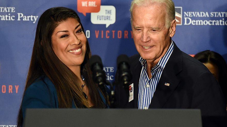 Image: Joe Biden Campaigns For Nevada Democrats