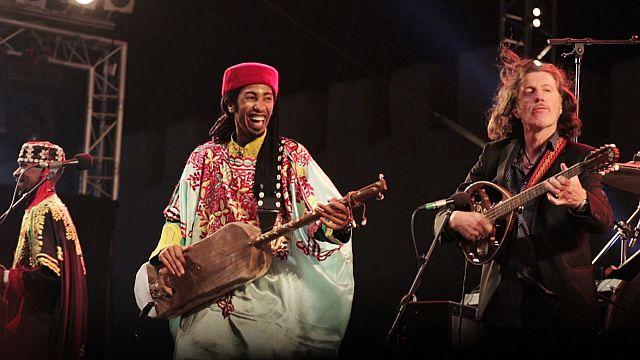 Gnaoua zenei fesztivál Marokkóban