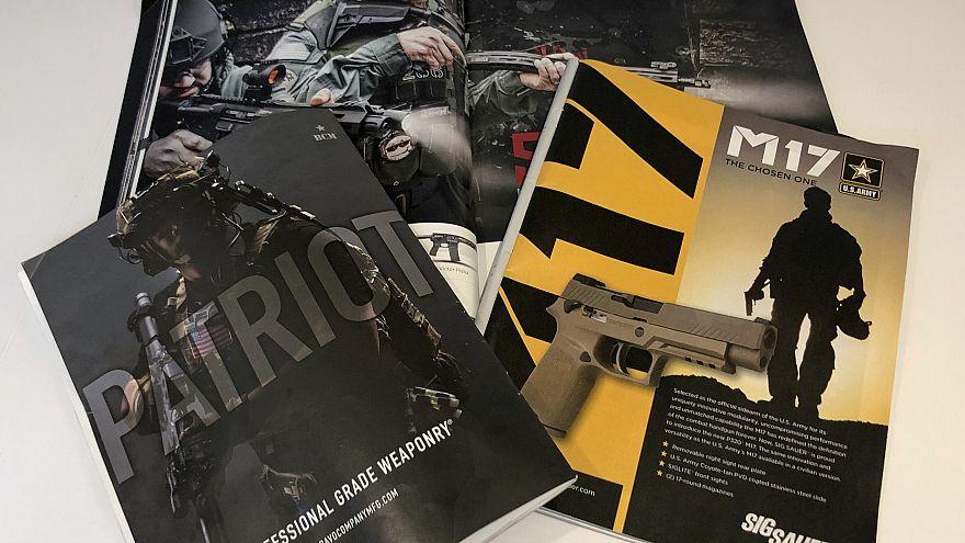 Image: Ads in gun magazines