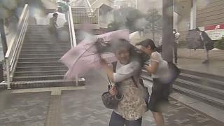 Тайфун «Нанмадол» обрушился на Нагасаки