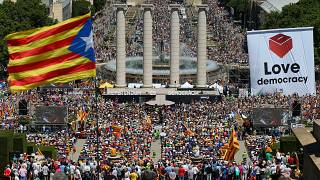 Catalonia promises split from Spain would come two days after vote