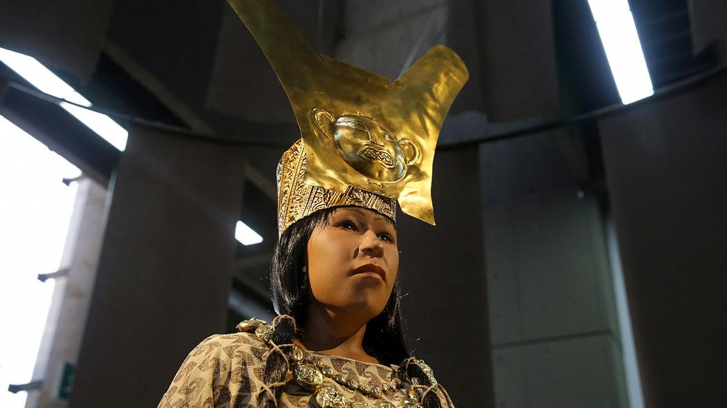 Лицо 1700-летней перуанки