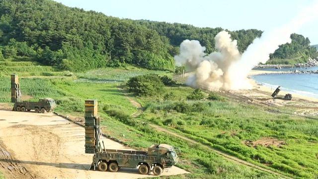 EE.UU. y Corea del Sur responden a Pyongyang lanzando misiles al Mar de Japón
