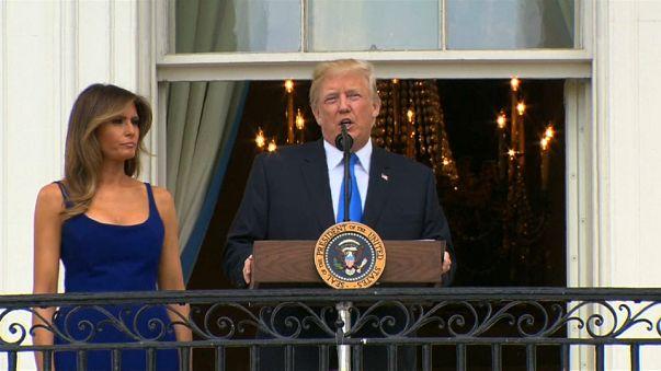 Trump festeja mandato a 4 de Julho