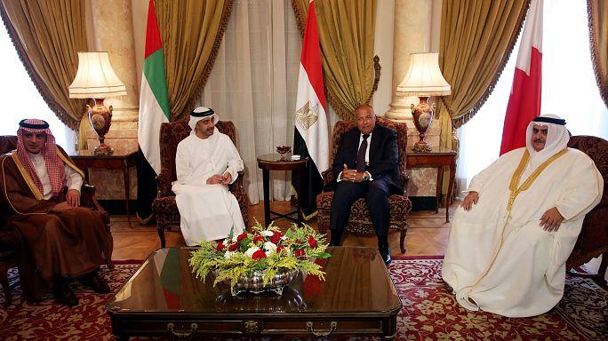 رباعي الحصار على قطر يؤكد استمرار مقاطعة الدوحة