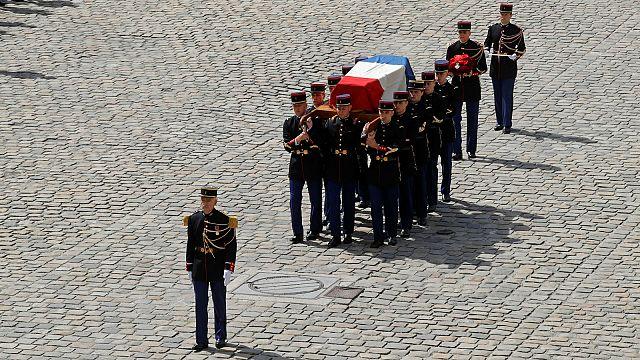 Trauerfeier für Frauenrechtlerin Simone Veil in Paris